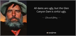 All dams are ugly, but the Glen 
