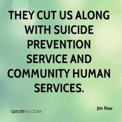 THEY CUT US ALONG 