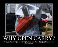 WHY OPEN CARRY?