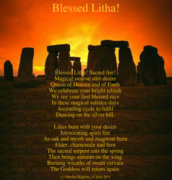 Blessed Litha! 
