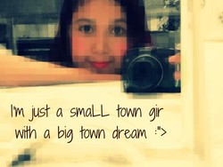11m Just a smaLL town gir 