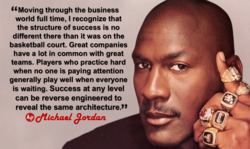 G' Moving through the business 
