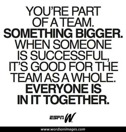 YOU'RE PART 