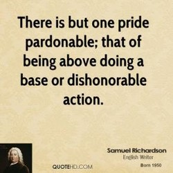 There is but one pride 