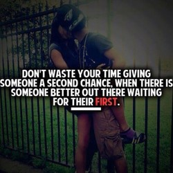 DON'T WASTE YOUR TIME GIVING 