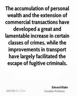 The accumulation of personal 