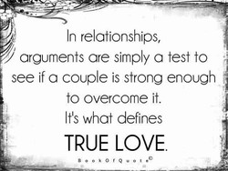 In relationships, 