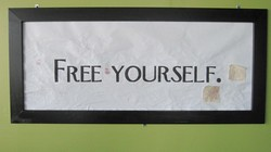 FREE •YOURSELF.