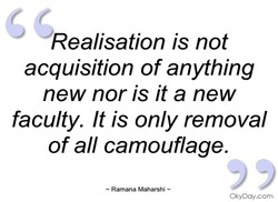 Realisation is not 