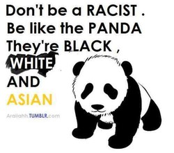 Don't be a RACIST . 
