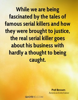 While we are being 