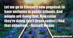 Let me go to Clinton's new proposal: to 