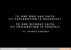 TO ONE WHO HAS FAITH, 