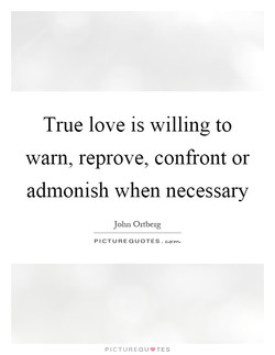 True love is willing to 