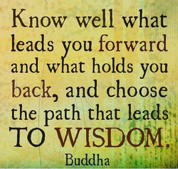 Know well what 