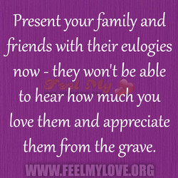 Present your family and 