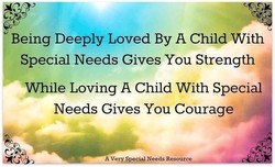 Being Deeply Loved By A Child With 