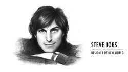 STEVE JOBS DESIGNER OF NEW WORLD
