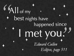 All of my 