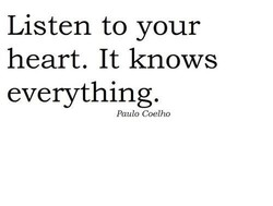 Listen to your 