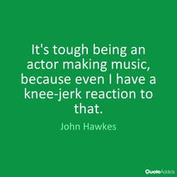It's tough being an 
