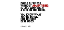 DOING BUSINESS 