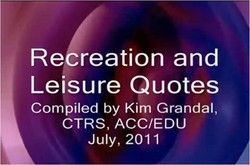Re reation and 
