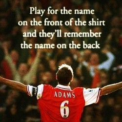 Play for the name 