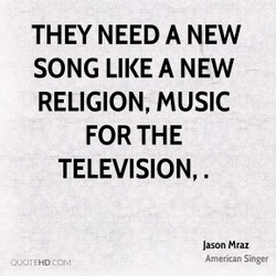 THEY NEED A NEW 