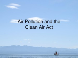 Air Pollution and the 