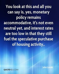 You look at this and all you 