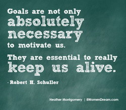 Goals are not only 