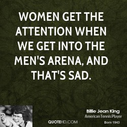 WOMEN GET THE 