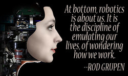 At bottom, robotics 