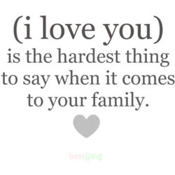(i love you) 