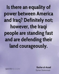 Is there an equality of 
