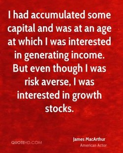 I had accumulated some 
