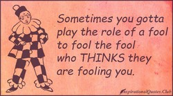 Sometimes you gotta 