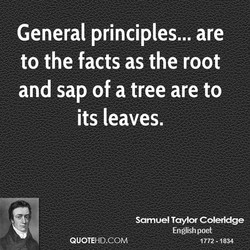 General principles... are 