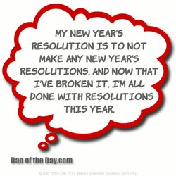 MY NEW YEAR'S 