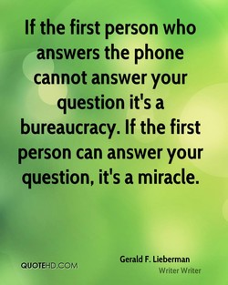 If the first person who 