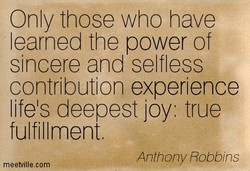 Only those who have 