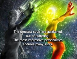 e eatest souls are ak ned vout of'uffenng. The most imbressive ities endures many sca