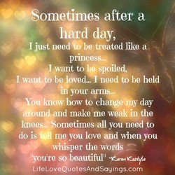 after a 