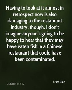 Having to look at it almost in 