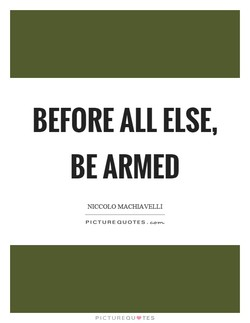 BEFORE ALL ELSE, 