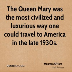 The Queen Mary was 