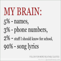 MY BRAIN: 