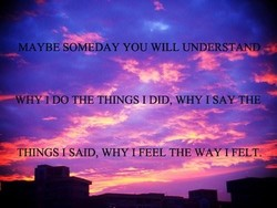 EMAYBÉ SOMEDAY YOU WILL UNDERST 