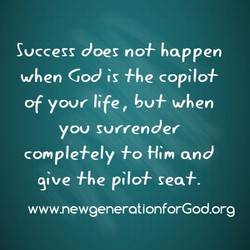 Success does no+ happen 